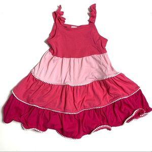 Gymboree Pink Striped Sleeveless Dress
